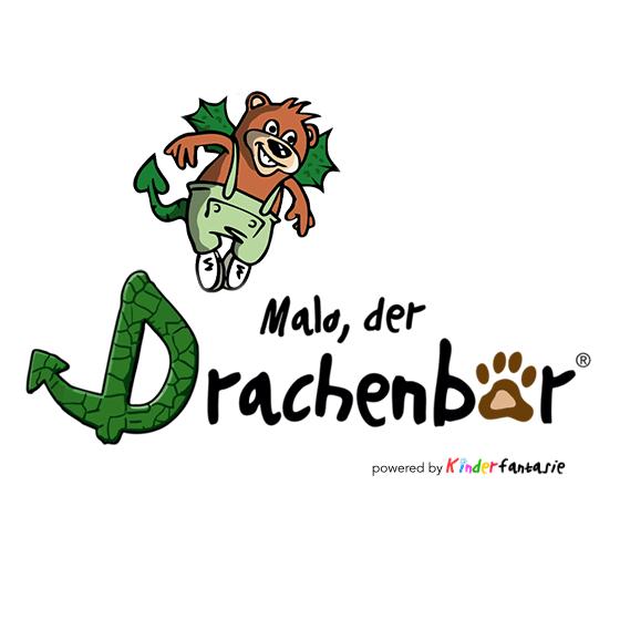 Malo der Drachenbär Logo